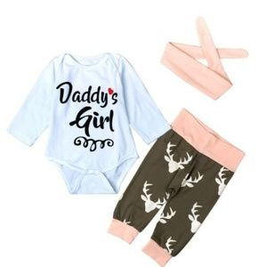 """Other - """"Daddy's girl"""" outfit 9,12,18 mo."""